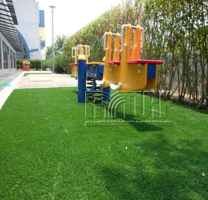 台北歐洲學校兒童遊戲區