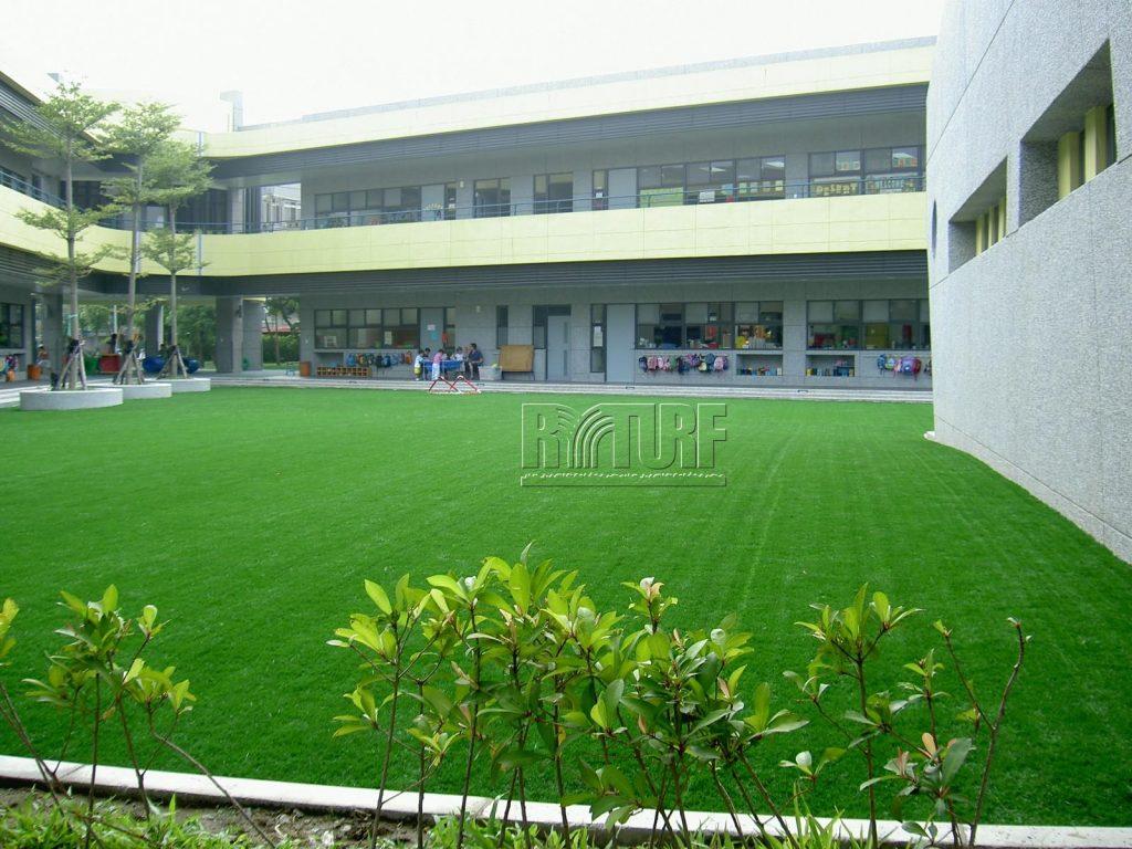 台北歐洲學校幼兒人工草遊戲區
