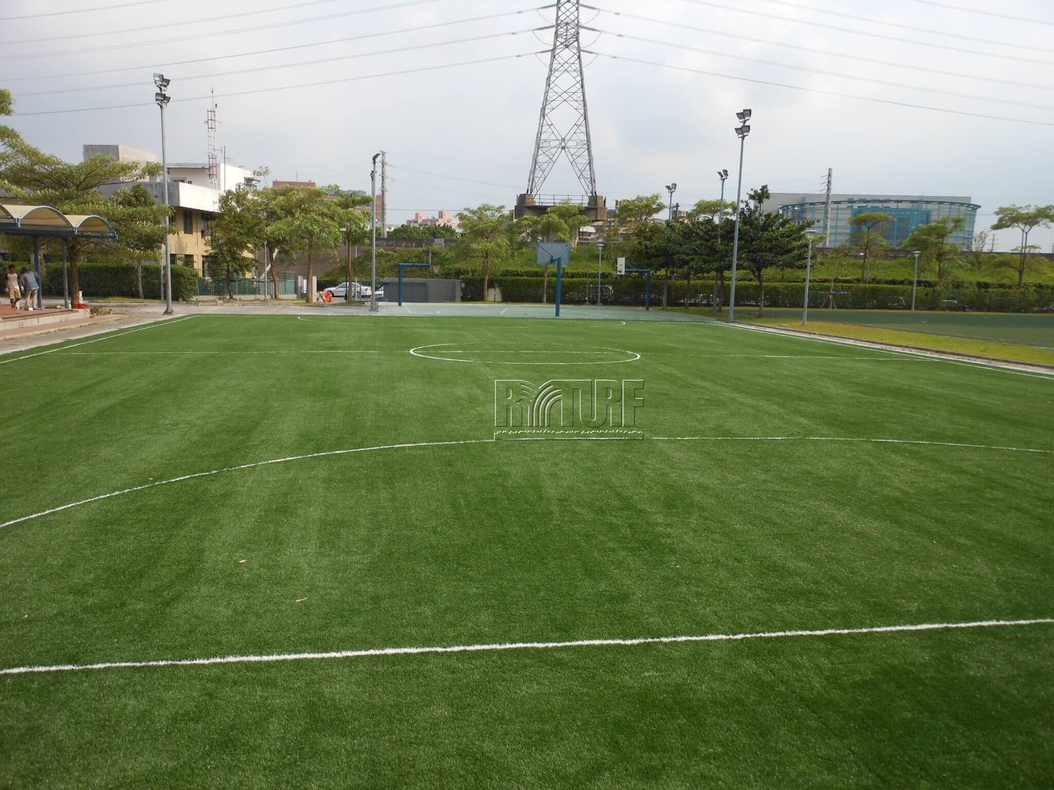 台北歐洲學校文林校區五人制人工草足球場