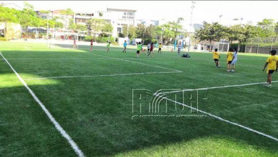 台北歐洲學校文林校區人工草足球場