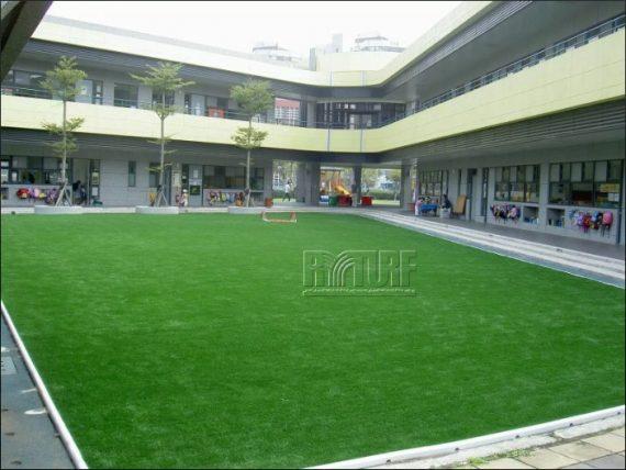 台北歐洲學校文林校區幼兒人工草足球場