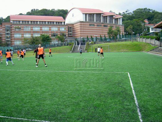 台北歐洲學校陽明山校區人工草足球場