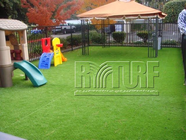 美國客戶人工草遊戲區