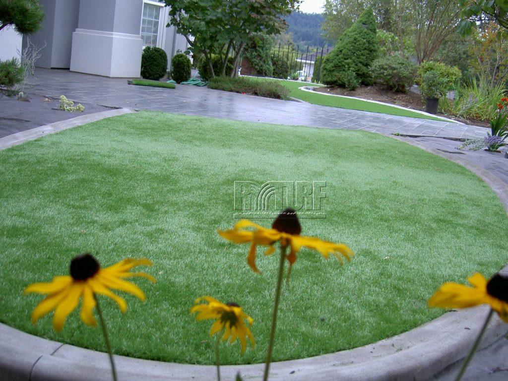 豪宅庭院人工草景觀