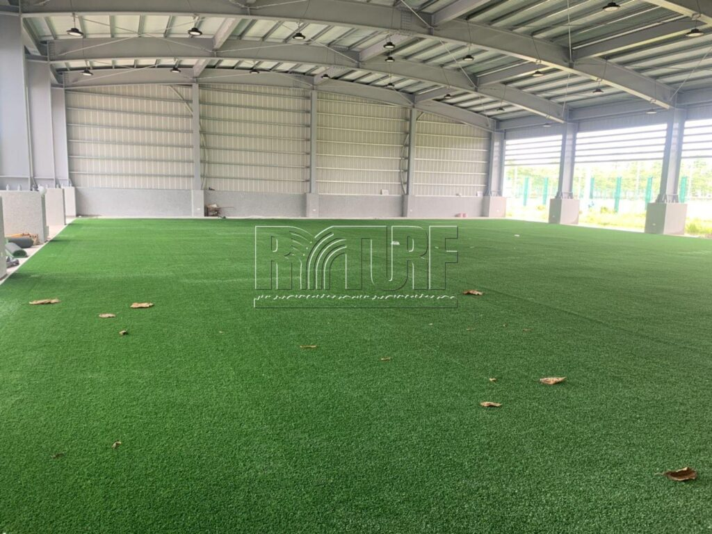 高雄左營國家訓練中心人工草棒球打擊練習場